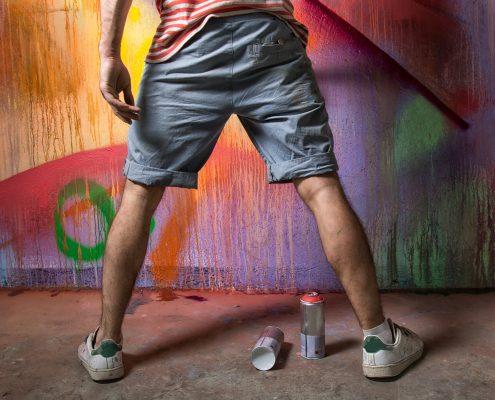 Revestimiento anti grafitis